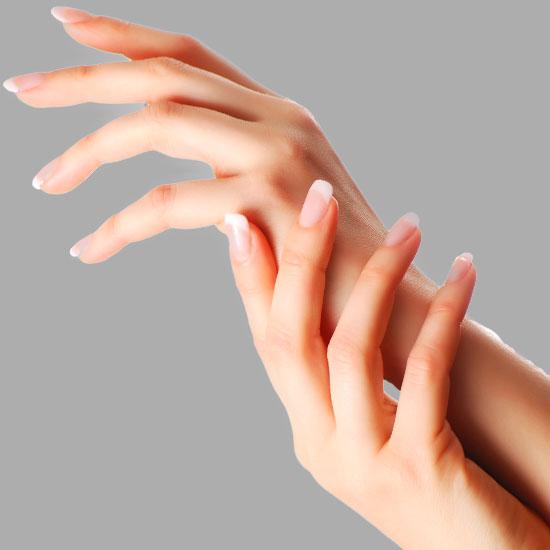 Hände Behandlung aesthetische Dermatologie Dr. Hoffmann Wien