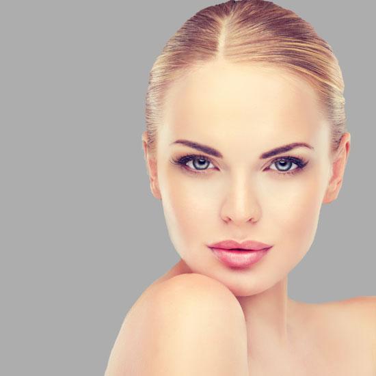 Augen Augenbrauen Lifting Botox Hyaluron